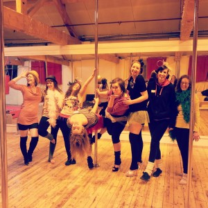 Parties at Flight Fitness, Pole Dancing Parties, Hen Parties